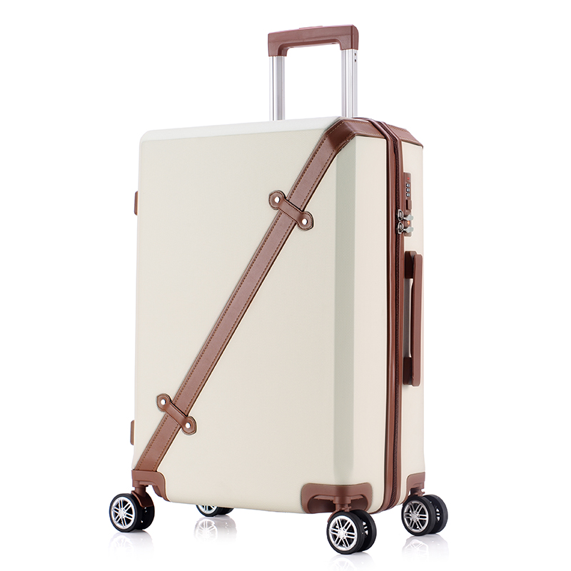 Universal wheels trolley luggage male 24 suitcase travel bag female password box 20,wholesale korea fashion abs hardside box 2024inch universal wheels luggage abs mute rolling travel bag password lock trolley suitcase colorful hand pull box