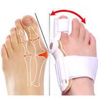 1 stücke Hallux Valgus Korrektur Toe Separator Haarglätter Fuß Schmerzen Erleichterung Füße Pflege Corrector Große Knochen Daumen Orthesen Pediküre