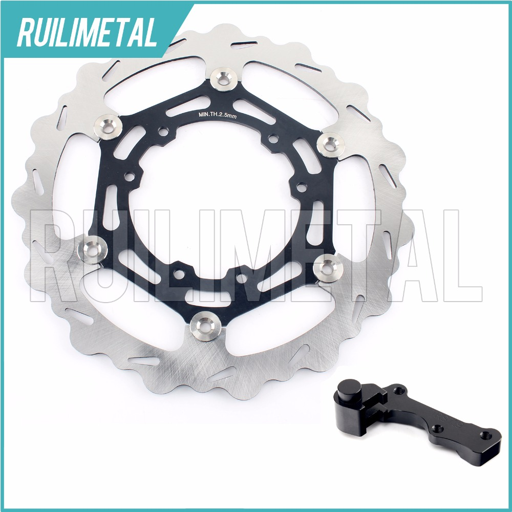 270mm oversize Front Brake Disc Rotor Bracket for HONDA CR CRF 125 250 450 R E X 04 05 06 07 08 09 10 11 12 13 14 15