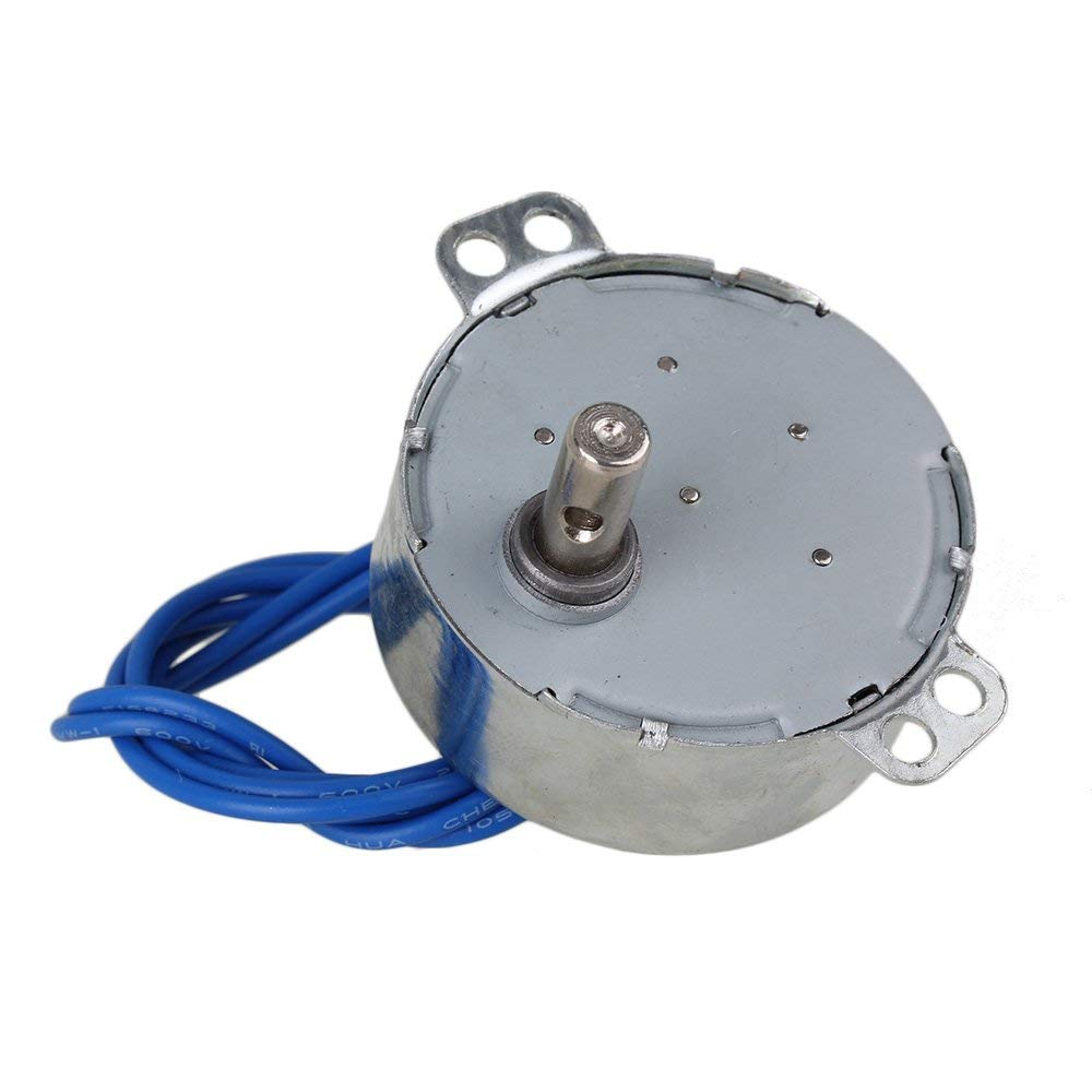 Synchronous Motor 50//60Hz AC 100-127 V 4W 5-6 RPM CCW//CW TYC-50 Silver