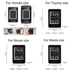 Image 3 - Toyota Mazda Nissan Honda 용 내부 또는 외부 센서 4 개가 장착 된 U912 차량용 TPMS 무선 타이어 압력 모니터링 시스템