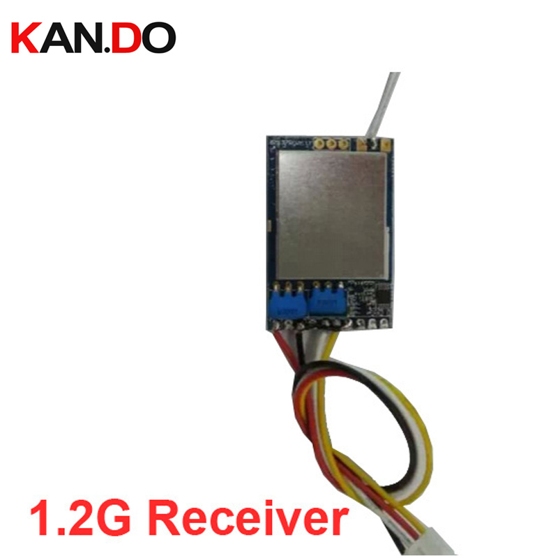8CH wireless receiver CCTV security mould 1.2G receiver 1200mhz CCTV transmitter receiver 1.2G FPV receiver drone transmission