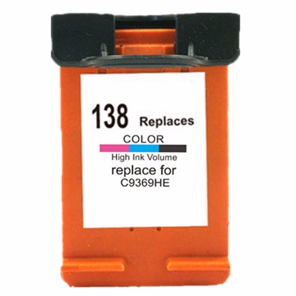 Remanufactured <font><b>Ink</b></font> Cartridges For HP138 XL 138XL PHOTOSMART <font><b>C3100</b></font> C3110 C3125 C3135 C3140 C3150 C3170 C3173 C3175 C3180 C3183 image