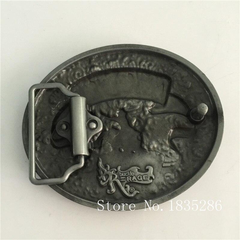 9d31007903f2 Détail Western Cowboy Boucle DE Ceinture Avec 3D Argent Chapeau Bottes  ovale Boucles En Métal Femmes Hommes Jean Accessoires Fit 4 cm Large  Ceinture dans ...