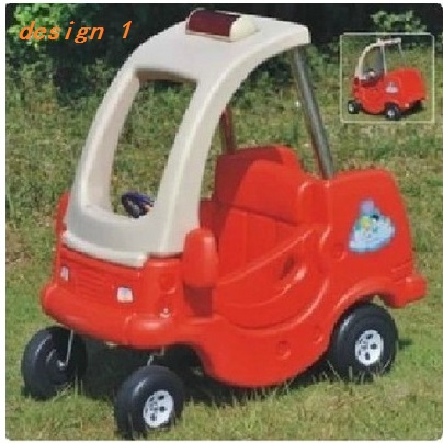 red blue yellow many designs kids toys kindergarten playground children cruiser police car plastic pedal toy cars for kids in walkers from mother kids on
