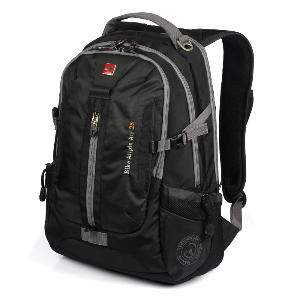 Swiss Gear Backpack With Headphone Jack Backpacker Sa