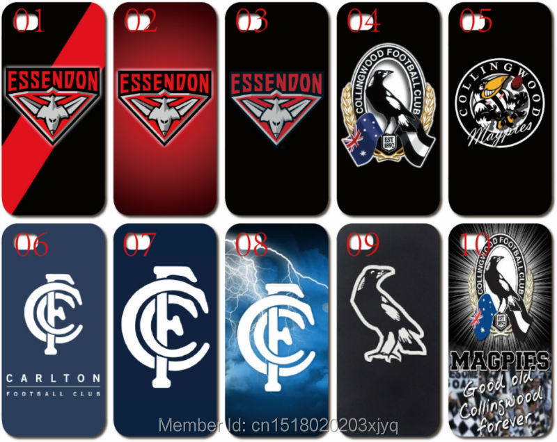 bilder für Großhandel Lot Malerei AFL Team Logo Handy Abdeckung Für Apple iphone 4 4 S 5 5 S SE 5C 6 6 S 7 Plus iPod Touch 4 5 6 Mobile fall