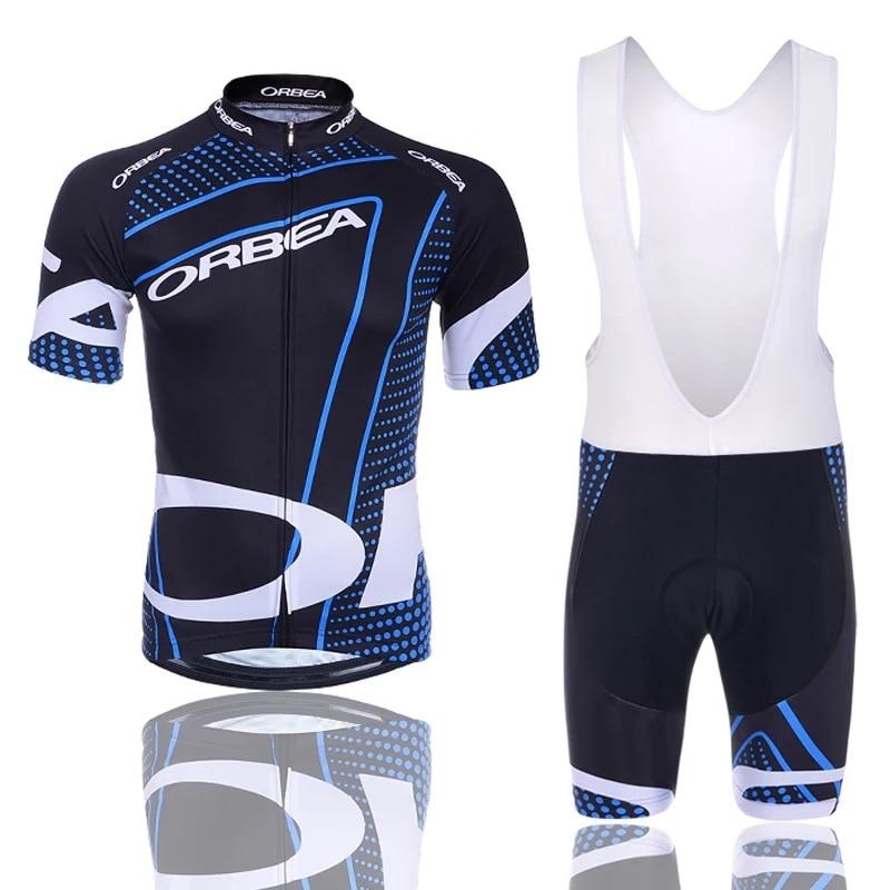 2015 новый! Сайт orbea Велоспорт Джерси с коротким Джерси ropa де ciclismo Майо езда на велосипеде одежда комплект велосипед носить дышащий гель площадку