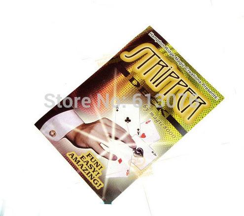 Cubierta stripper de magia con cartas, ilusiones, trucos de cartas magia de la etapa, envío libre mentales