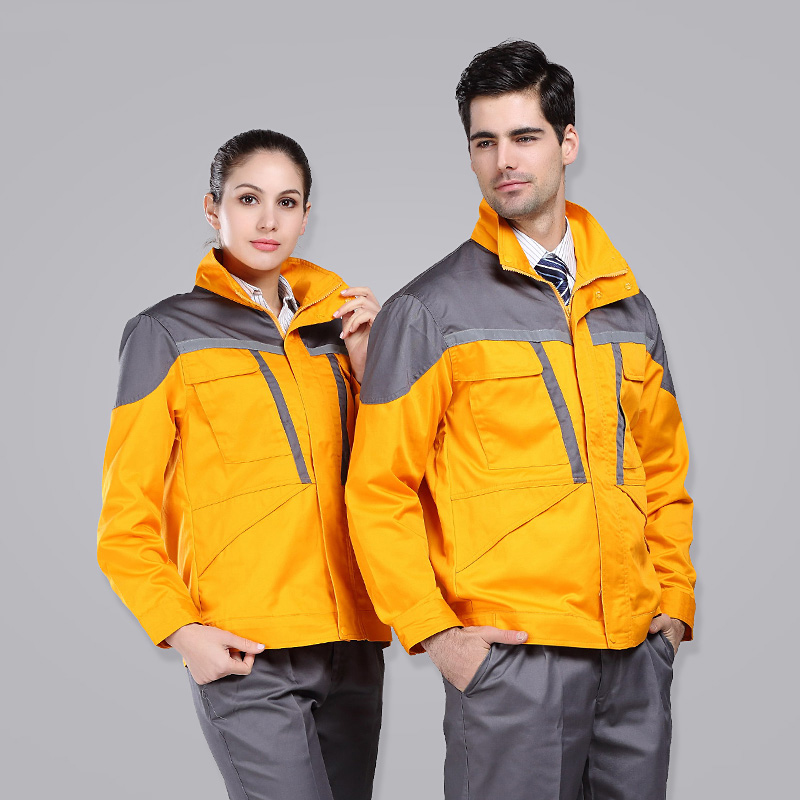 Set of Coat+Pants long sleeve outdoor coat construction field uniform auto repair service uniform men out of uniform