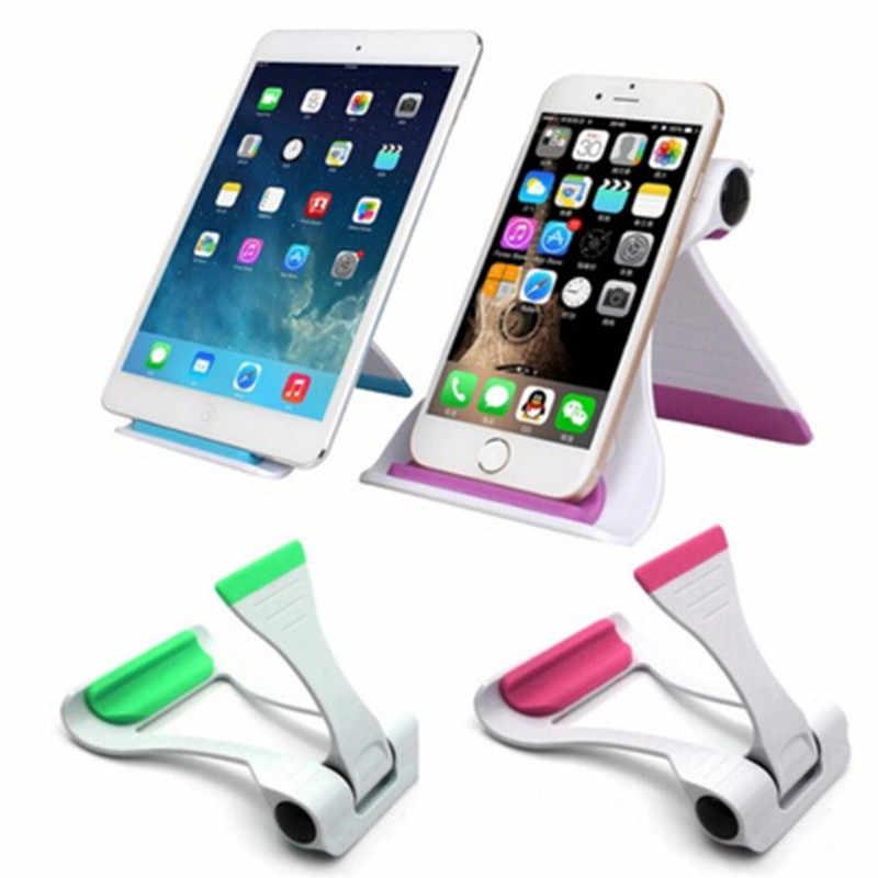 360 Graus de Rotação Titular Suporte de Mesa Suporte de Apoio Para o iphone 6 7 Plus 5S S7 S6 Portátil Do Telefone Móvel & tablets PC