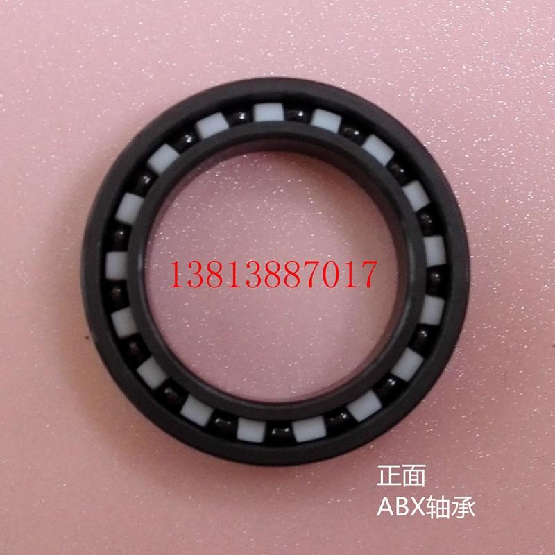 6803 full SI3N4 ceramic deep groove ball bearing 17x26x5mm 61803 bearing P5 ABEC5 636 full si3n4 ceramic deep groove ball bearing 6x22x7mm p5 abec5