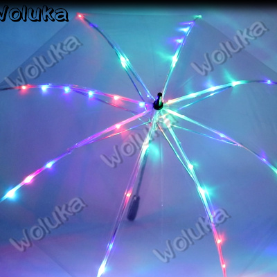 Beautiful Exterior Shooting Creative Umbrella Wedding Photography Stage Prop Umbrella Led Night Luminescent Umbrella Cd50 W03 Stage Lighting Effect Lights & Lighting