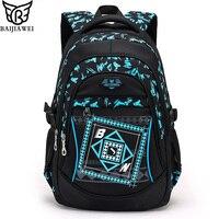2016 New Arrival Children School Bags High Quality Nylon Backpacks Lighten Burden On Shoulder For Kids
