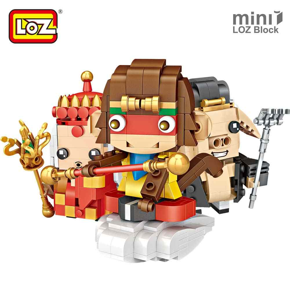 LOZ Mini Blocks Journey To The West Monkey King Brick Action Figure Single Educational Building Blocks Kids Plastic Assembly Toy