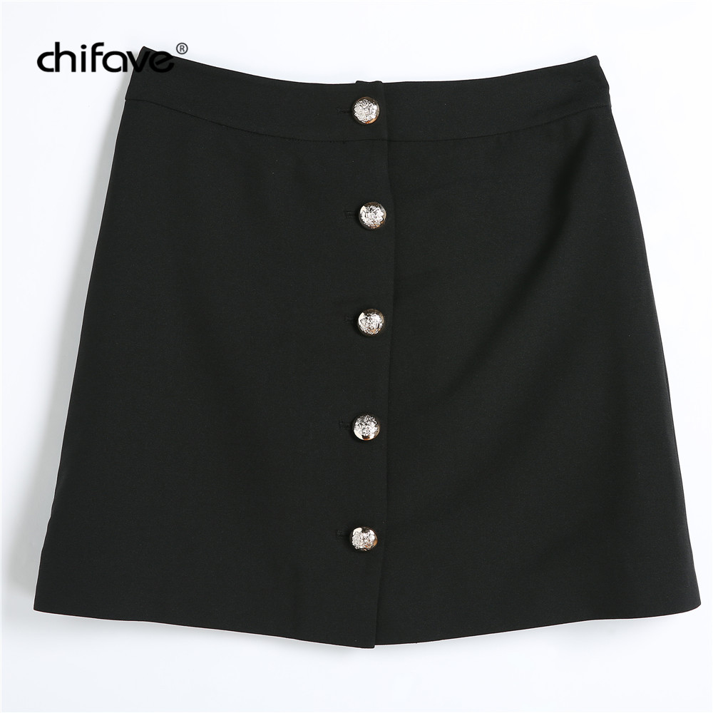a67035878864f 2018 Vintage Women Mini Bodycon Skirt Black High Waist Pencil Skirts Female  Causal Slim Ladies Office Skirt Plus Size chifave-in Skirts from Women s ...