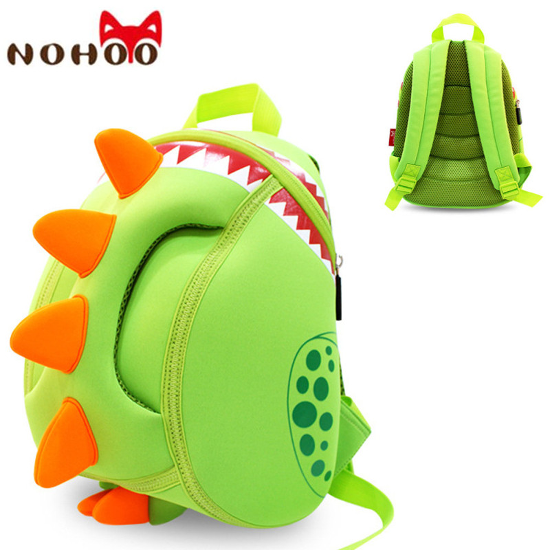 תרמילים - NOHOO Baby Kid s School Bags Waterproof Dinosaur Neoprene  Children School Bags Boys Girls 3D Cartoon Bags for 2-5 Years Old-25 cb63e887e77e1
