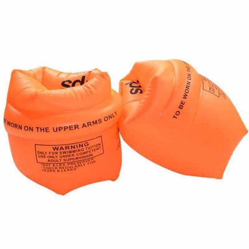 2 pcsYellow PVC แหวนว่ายน้ำแหวนลอยผู้ใหญ่เด็กสีเหลืองแหวนเด็กว่ายน้ำแขน Air Air จัดส่งฟรี