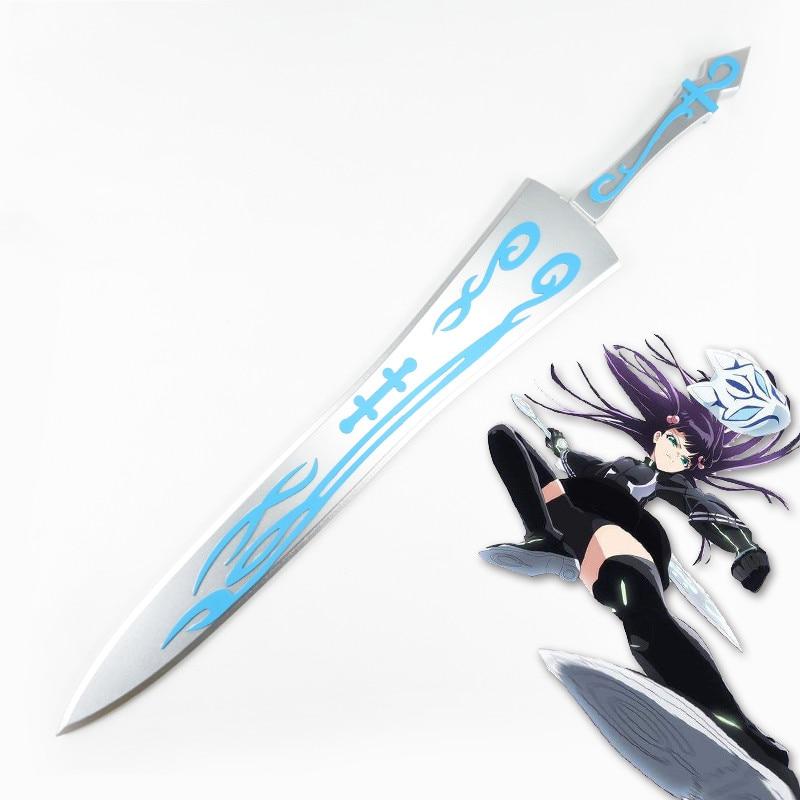 Anime Twin Star exorcistes Adashino Benio grande épée Cosplay accessoires armes en bois épée lame couteau pour Halloween fête spectacles