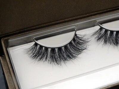 Pure Handmade 100% real Mink False eyelashes 1