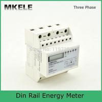 5 (100) و 3*230/400 فولت polyphase MK-LEM022SJ الصغيرة البسيطة الدين electronice الطاقة متر