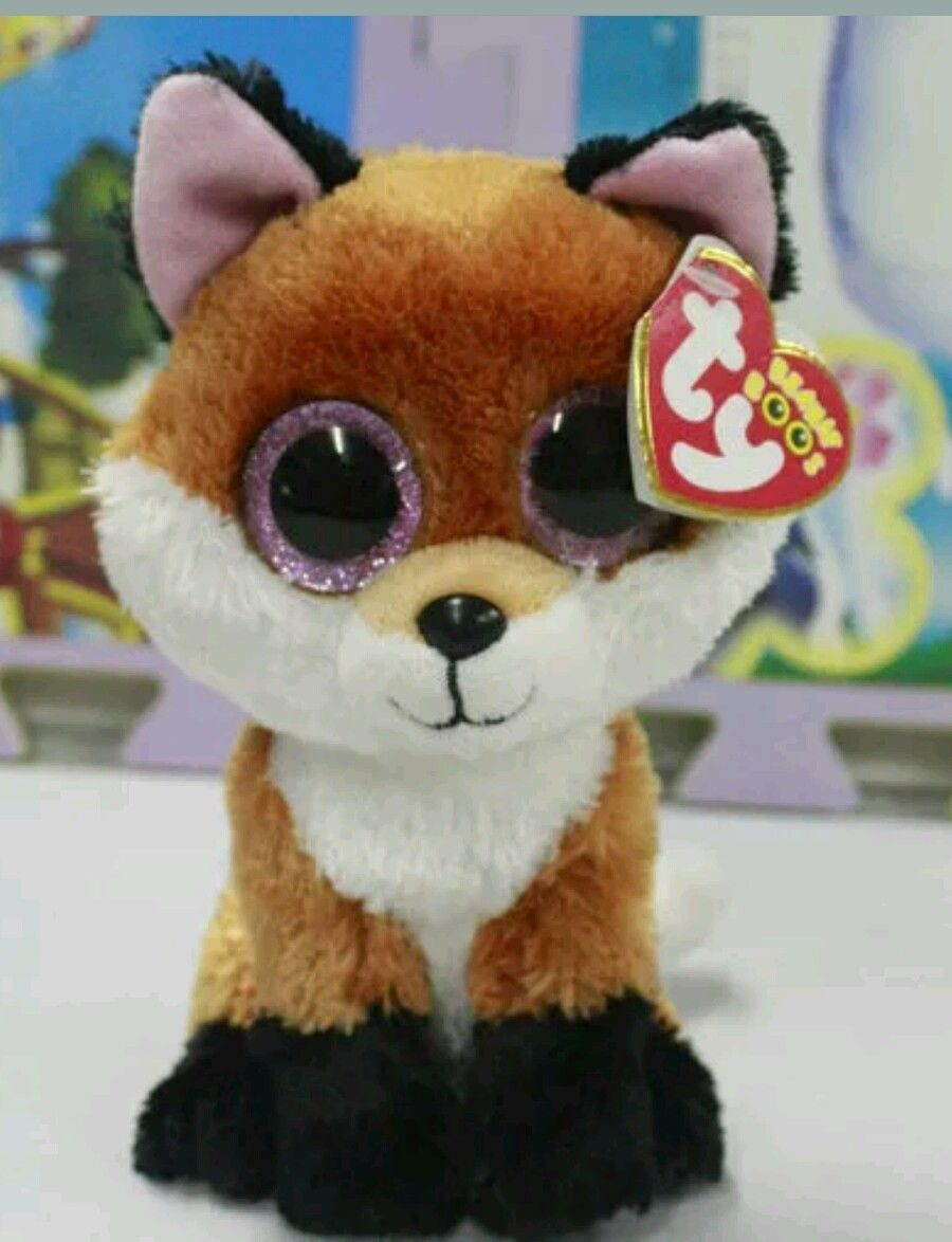 377b93e824e Ty Beanie Boos 6-Inch Slick Brown Fox Plush Beanie Baby Plush Stuffed Doll  Toy Collectible ...