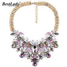 Women Fashion Luxury Statement Necklace Colorful