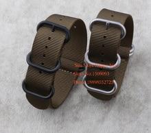 En gros! Suunto Core Nylon Diver Bracelet Bande Kit w Pattes Adaptateurs ArmyGreen 5-ring 18 20 22 24 26mm Zulu L'otan bracelets