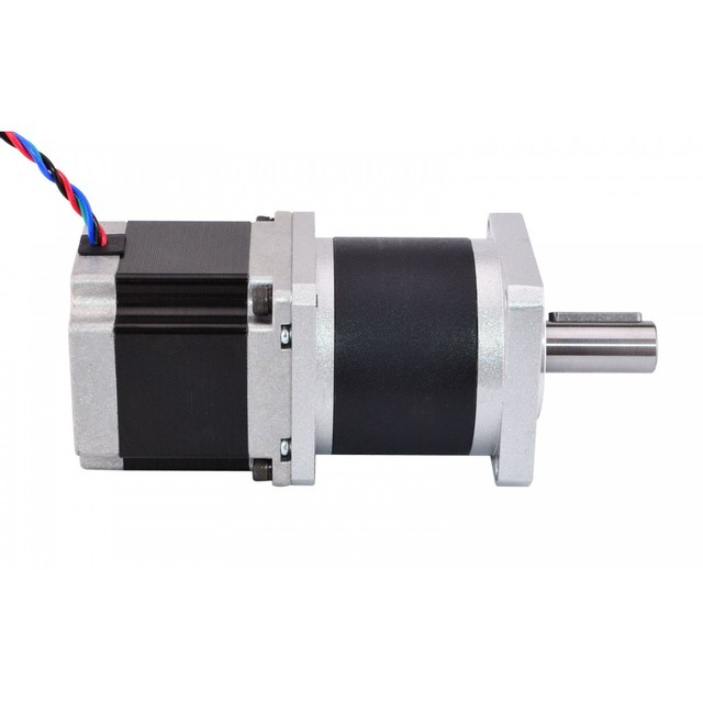 High Precision Planetary Gearbox Nema 23 Stepper Motor Reducer Gear Ratio 10:1 4-lead 2.8A for CNC 3D Printer Motors
