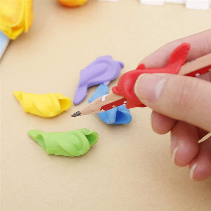 5Pcs Silicone Dolphin Fish Hold Drawing Pencil Childrens Creativity Kids Students Pencil Writing Drawing Protect Finger Toys5Pcs Silicone Dolphin Fish Hold Drawing Pencil Childrens Creativity Kids Students Pencil Writing Drawing Protect Finger Toys