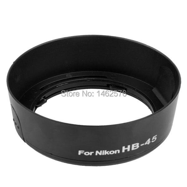 1 шт. HB-45 Бленда Объектива Камеры для NIKON AF-S DX 18-55 мм f/3.5-5.6 Г VR для nikon D3100 D5100 D5200 D3200