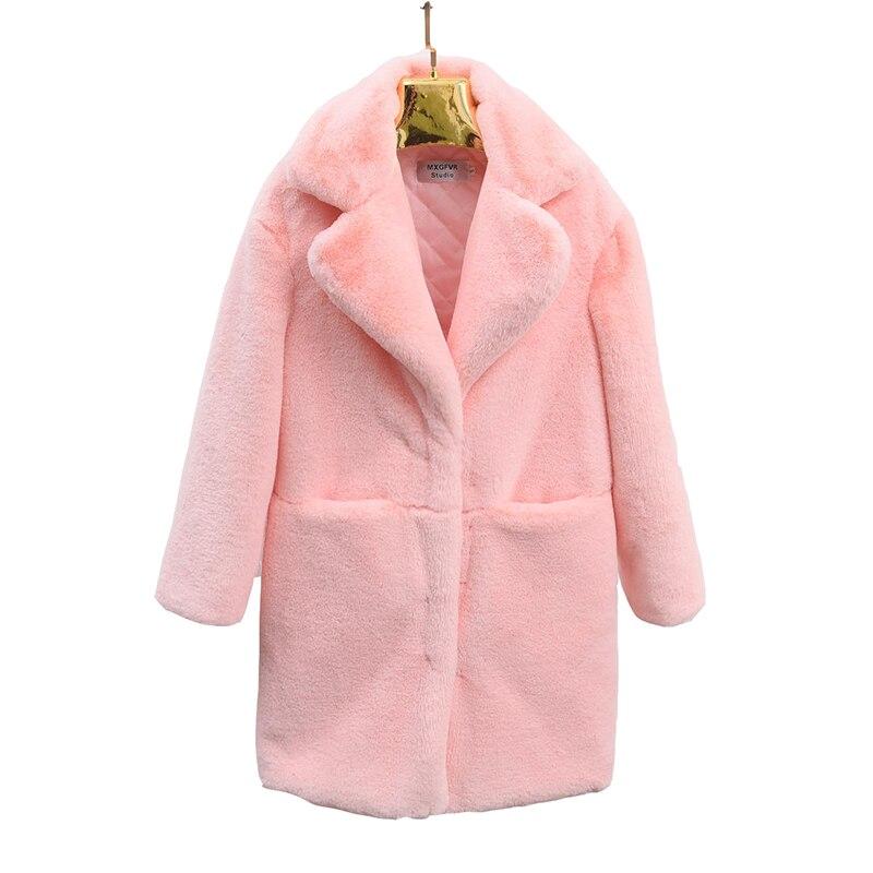 Veste Hiver White pink Nouvelle D'hiver Chaud En Parka Mode Automne Overcoa Long 2018 red Laine Manteau Femmes Femme Grey De light Mince black Type 5OnwqUg