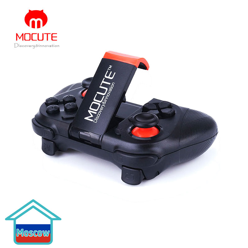 MOCUTE 050 Gamepad inalámbrico Bluetooth V3.0 controlador de juego Joystick Super teléfono inteligente juego compañero para Pad Android IOS