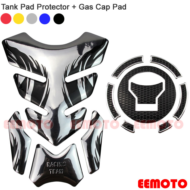 Motorcycle Fuel Tank Pad Protector Gas Cap Pad Stickers Decals For Honda CB650F CBR650F VFR800X VFR800 CBR500R CB500X CB500F MN4