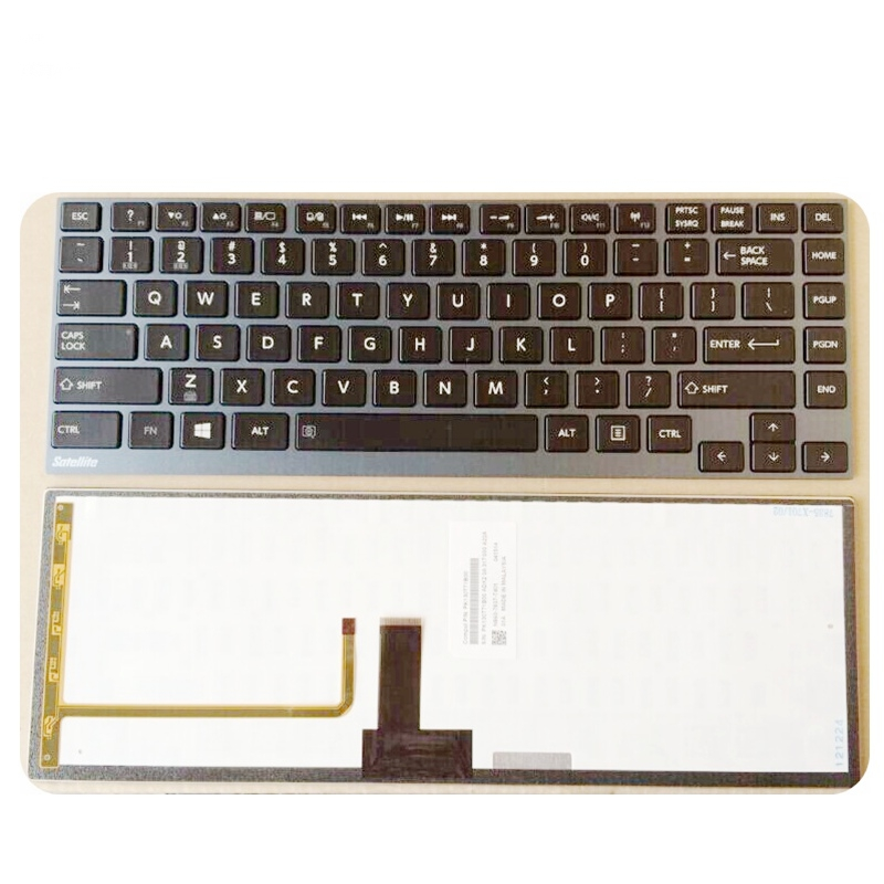NEW Keyboard For Toshiba for satellite Z930 U900 U920T U800 U800W U840 Z830 R830 Z935 US Laptop Keyboard Backlit цена