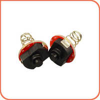 2pcs quality Flashlight tail switch accessories Modding Push button DIY  torch Parts spring Switches (pack of 2pcs)