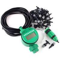 NIEUWE 20 M DIY Irrigatiesysteem Water Timer controle Sprinkler Watering Kit Outdoor Tuin Verneveling Koelsysteem