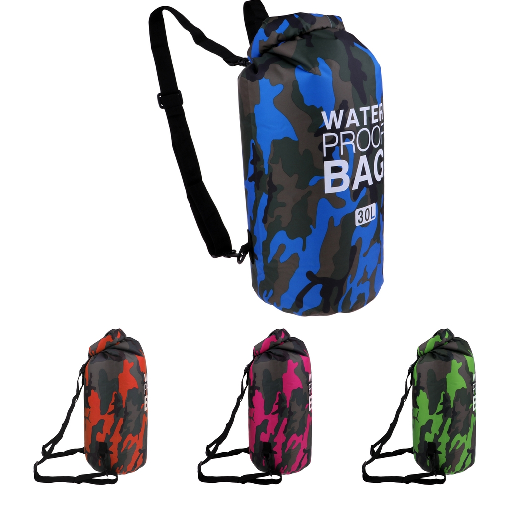 30L Waterproof Dry Bag Sack Floating Dry Gear Bags Sack Backpack Kayak Boat Floating For Water Sports Fishing Snorkeling Diving