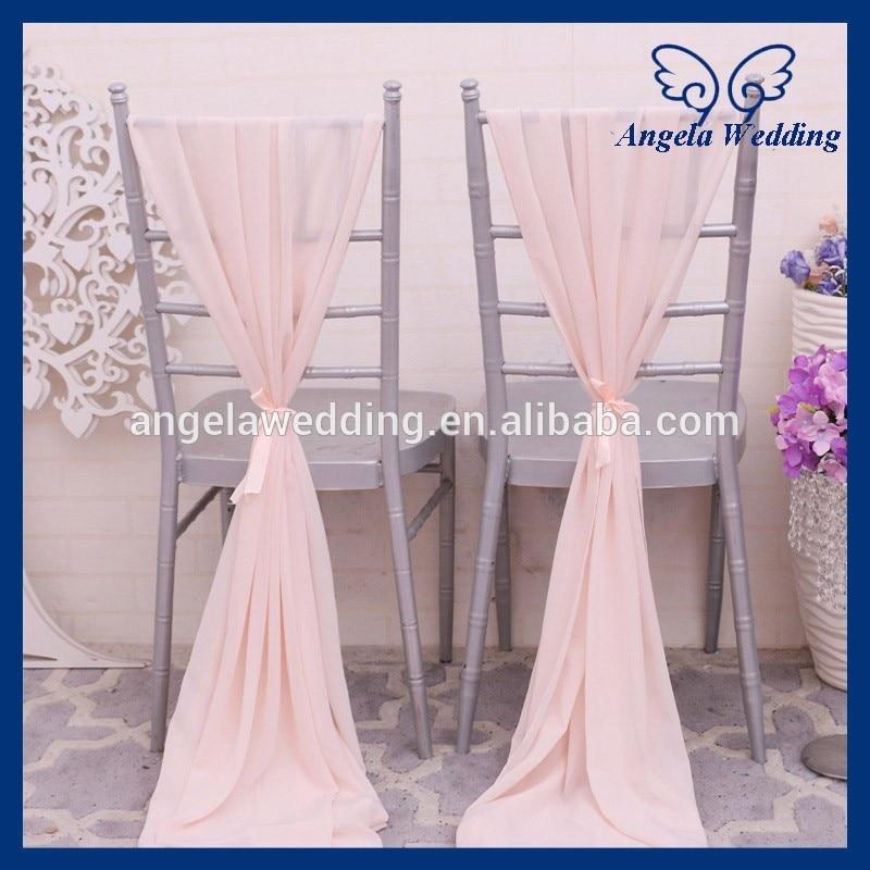 blush chair sashes bedroom walmart sh004e cheap elegant fancy wedding pink chiffon sash with ribbon-in from home ...