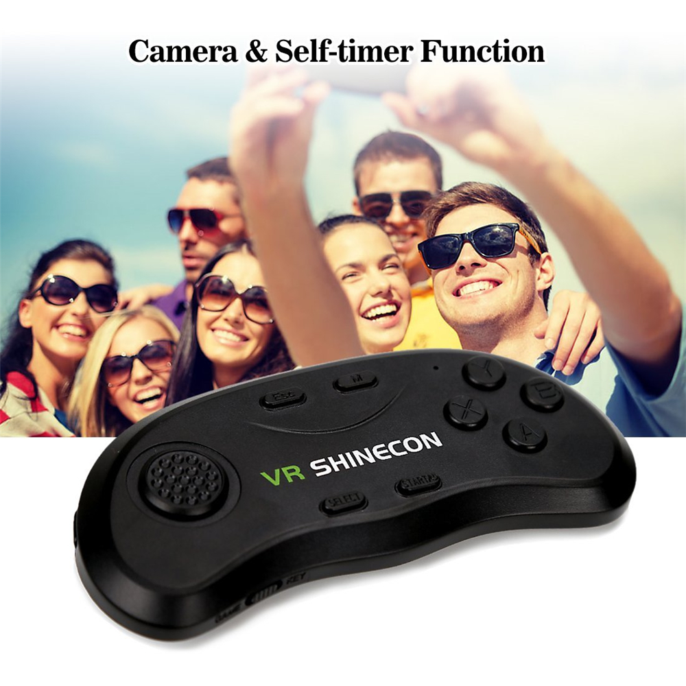 17 VR Shinecon 3D Immersive Virtual Reality Glasses Cardboard Wearable VR Box Headset for 4.3-6.0 inch Smartphone + Controller 28