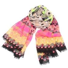 Tartan tassel scarf women winter xadrez brand foulard wrap ring scarves striped neckerchief foulards femme bufandas