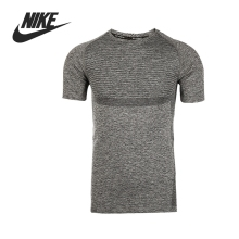Original NIKE DRI-FIT KNIT SS Men's Running T-shirts short sleeve Sportswear