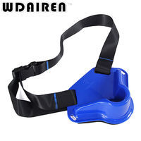 WDAIREN Durable Fishing Fighting Belt High Quality 360 Degree Rotatable Fish Rod Holder Adjustable Belt Waist