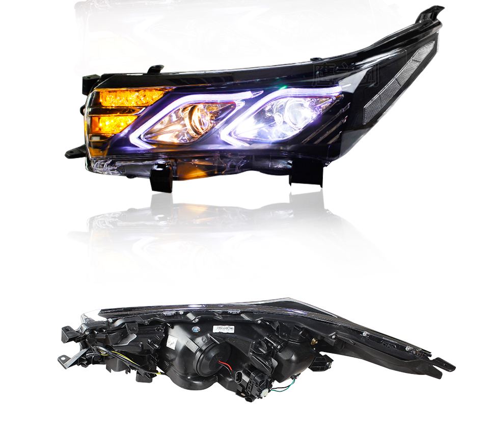 AcooSun LED Car Headlight Assembly For Toyota Corolla 2014 2015 DRL Turn Signal Lights Projector Lens Plug and Play Head Light (18)