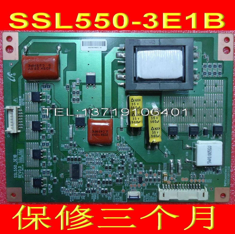 FOR TCL L55V7300A-3D Konka LED55X5000D constant current board SSL550-3E1B REV0.0 is used original konka lc40gs60dc kip l200i12c1 01 35014948 rev 00