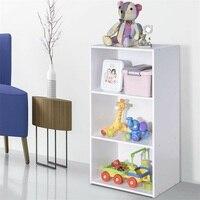 Open Shelf Bookcase Modern Storage Display Cabinet Modern Book Shelf Furniture HW60198