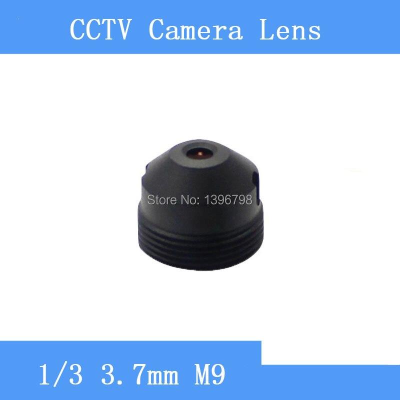 PU'Aimetis caméra de surveillance sténopé lentille 3.7mm M9 fil CCTV lentilles