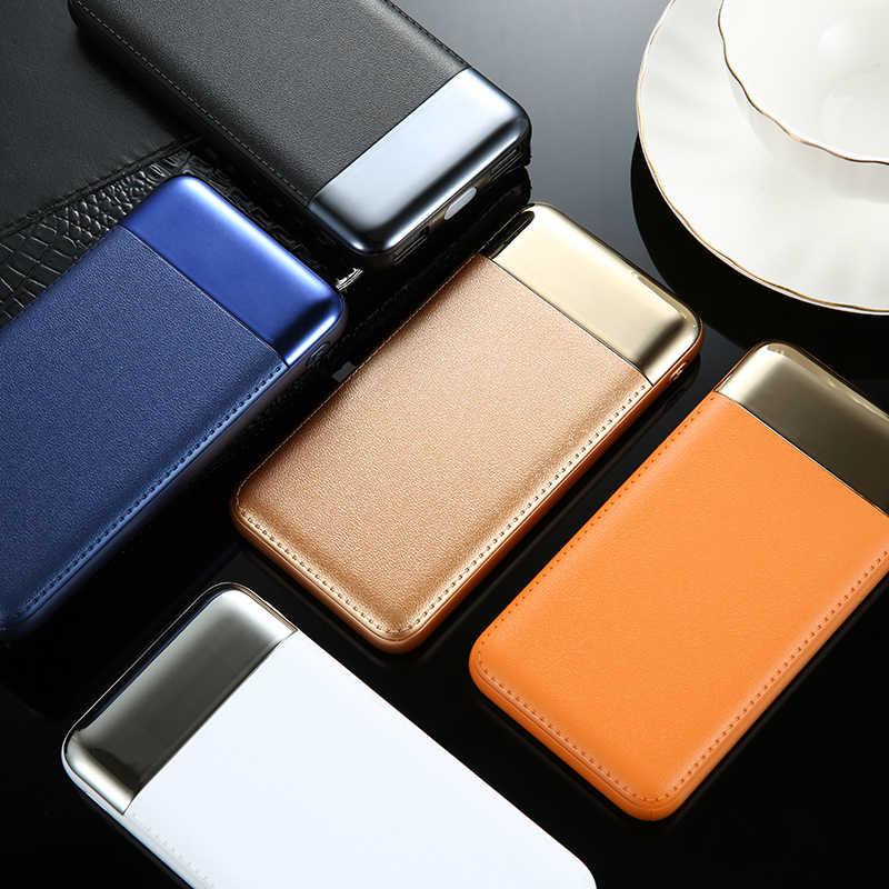 30000 mah قوة البنك بطارية خارجية PoverBank 2 USB LCD تجدد Powerbank المحمولة الهاتف المحمول شاحن هواتف xiaomi mi iphone XS ماكس 7 8