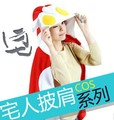 Free Shipping Cute Cosplay Cosplay Anime Ultraman Women Men Fleece Plush Hooded Blanket Wrap Cloak Shawl Crape Beach Towel