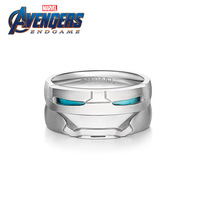 Marvel Jewelry Marvel's The Avengers Iron Man Ring 925 Silver Mark43 Ring Super Heros Peronality Souvenirs Fans Gift